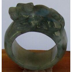 Bague Jade Grande Taille