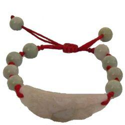Bracelet Motif Chinois Jade Perle