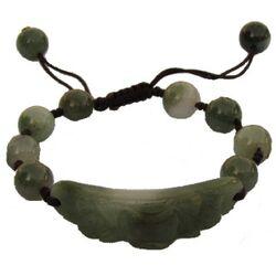 Bracelet Pierre de Jade Vert Natuelle