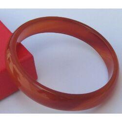 Bracelet Rouge En Agate