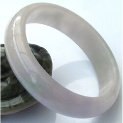 Jade Naturel Jonc Bracelet