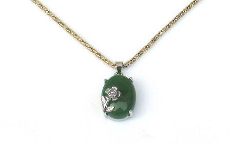 Collier En Jade