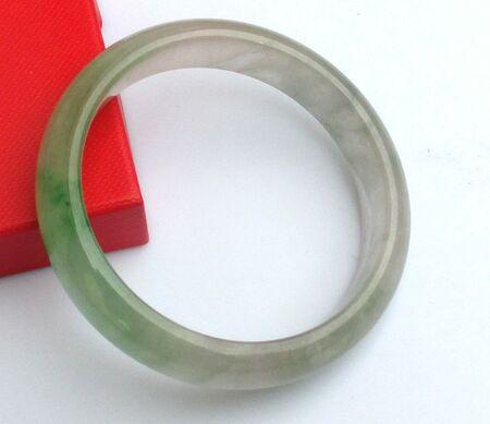 Bijoux Jonc Jade Vert