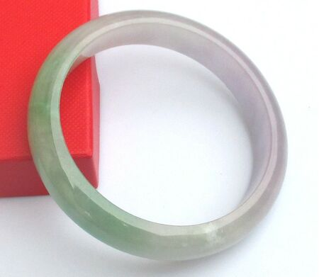 Bracelet  Vert Clair Jade Manifique