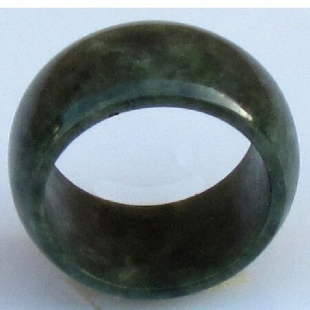 Bague Jade Vert Fonce