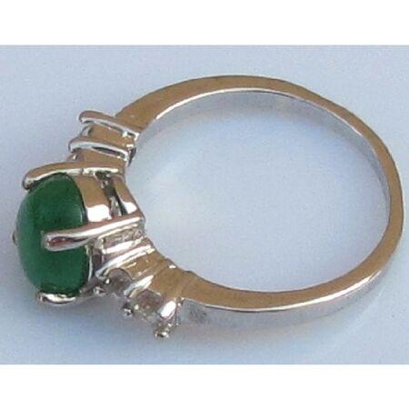 Bague Jade Vert