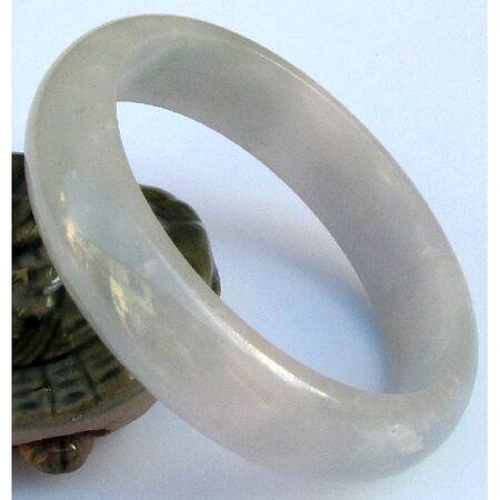 Bracelet Jade Jonc Bijoux Bonheur