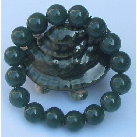 Bracelet Jede Boule Vert Fonce